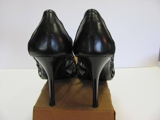 Bakers Size 10.00 M Leather Very Good Condition Black Pumps Image 6
