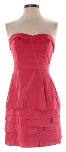 BCBGMAXAZRIA short dress coral on Tradesy