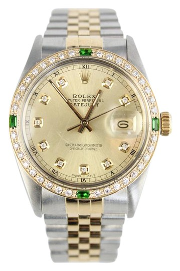 Preload https://item3.tradesy.com/images/rolex-18kt-yellow-goldstainless-steel-men-s-oyster-perpetual-datejust-watch-2076282-0-7.jpg?width=440&height=440