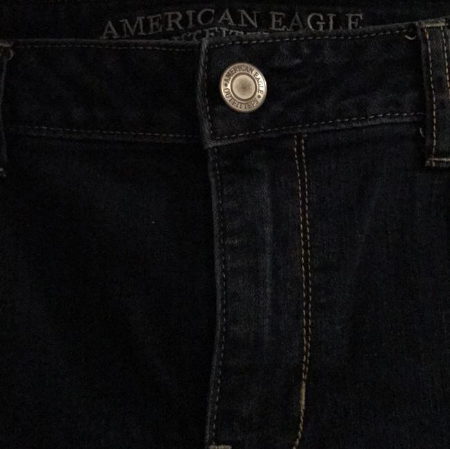 American Eagle Outfitters Straight Leg Jeans-Dark Rinse Image 2
