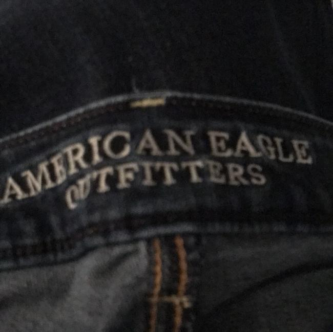 American Eagle Outfitters Straight Leg Jeans-Dark Rinse Image 4