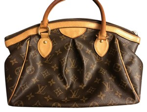 Louis Vuitton Tivoli Pm Satchel in Brown