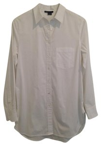 Vince Button Down Shirt White