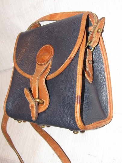 Dooney & Bourke Awl All Line Early D&b Mint Vintage Rare Style Cross Body Bag Image 4
