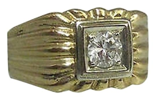 Preload https://item1.tradesy.com/images/14k-yellow-gold-mens-diamond-ring-size-75-2076310-0-0.jpg?width=440&height=440