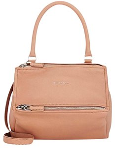 Givenchy Pandora Grained Goatskin Messenger Cross Body Bag