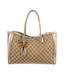 Gucci Tote in Beige/Brown
