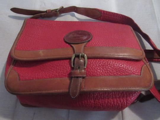 Dooney & Bourke Awl Excellent Vintage Early Rare D&b Style Multiple Pockets Great For Everyday Shoulder Bag Image 1