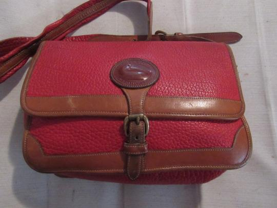 Dooney & Bourke Awl Excellent Vintage Early Rare D&b Style Multiple Pockets Great For Everyday Shoulder Bag Image 10