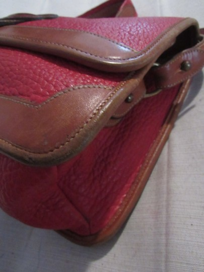 Dooney & Bourke Awl Excellent Vintage Early Rare D&b Style Multiple Pockets Great For Everyday Shoulder Bag Image 11