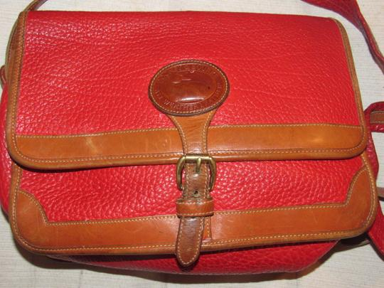 Dooney & Bourke Awl Excellent Vintage Early Rare D&b Style Multiple Pockets Great For Everyday Shoulder Bag Image 2