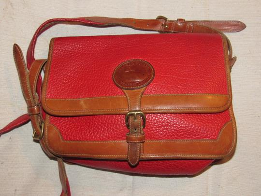 Dooney & Bourke Awl Excellent Vintage Early Rare D&b Style Multiple Pockets Great For Everyday Shoulder Bag Image 3