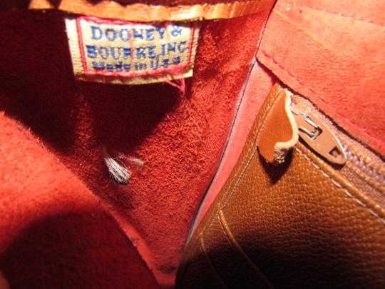 Dooney & Bourke Awl Excellent Vintage Early Rare D&b Style Multiple Pockets Great For Everyday Shoulder Bag Image 5