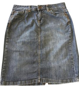 Calvin Klein Skirt denim medium wash