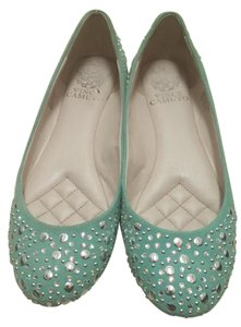 Vince Camuto Crystals Sparkly Blue Flats