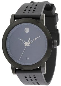 Movado Movado Museum Sport Black Rubber Mens Watch 0607038