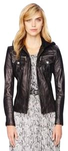Michael Kors Leather Motorcycle Motorcycle Jacket