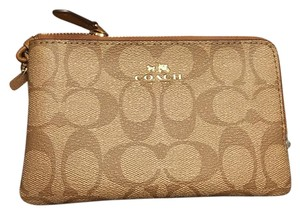 Coach Coach double zip wristlet