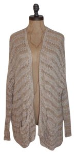 Free People Crochet Chunky Marled Open Cardigan