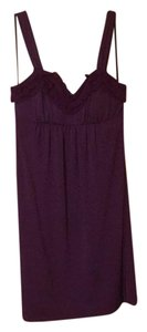 Candie's short dress purple on Tradesy