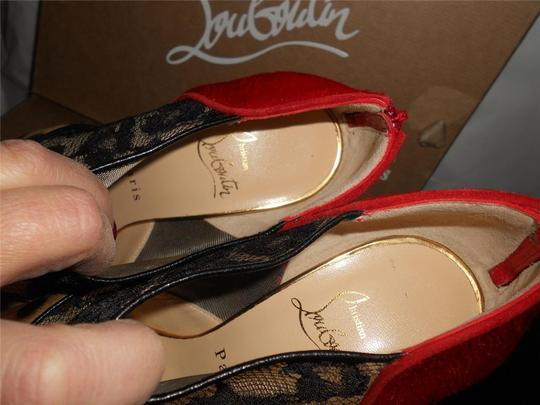 Christian Louboutin Caged Strappy Gortik Multi Boots Image 3