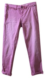 Anthropologie Pilcro And The Letterpress Hyphen Straight Pants Rose/Pink