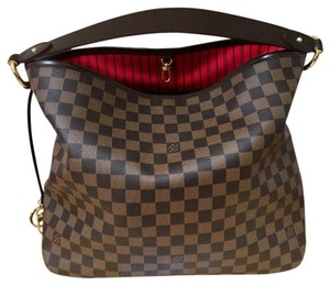Louis Vuitton Satchel in Never worn Like new! Delightfull MM. Dustbag and tag included. (Damier Ebene)