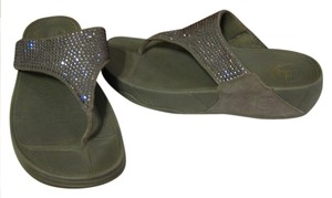 FitFlop GRAY Sandals