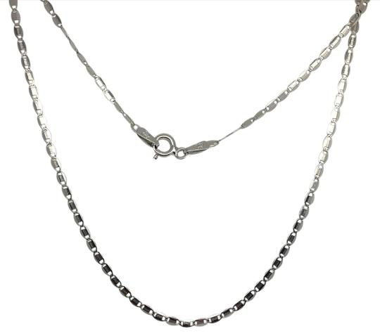 Preload https://img-static.tradesy.com/item/20764255/925-sterling-silver-rhodium-flat-chain-18-inches-necklace-0-1-540-540.jpg