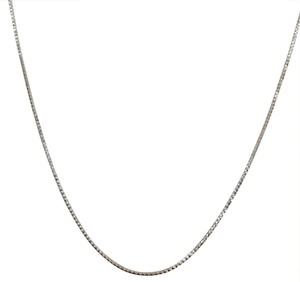 Other 925 Sterling Silver Rhodium Diamond Cut Snake Chain 16
