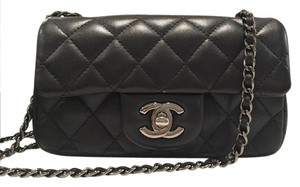 Chanel Cf Classic Flap Mini Cross Body Bag
