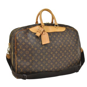 Louis Vuitton Monogram 24h Keepall Lv brown Travel Bag