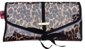 Victoria's Secret Leopard Hanging Cosmetic Case Bag