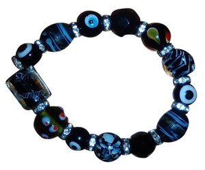 Other Ladies Greek evil eye good luck stretch bracelet