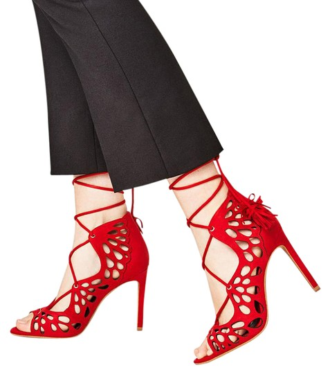 Preload https://img-static.tradesy.com/item/20765038/zara-red-new-box-tassel-laser-cut-out-lace-up-heels-sandals-size-us-6-regular-m-b-0-1-540-540.jpg