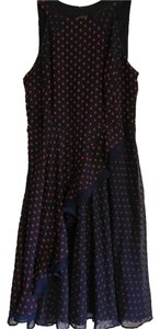Anthropologie short dress Navy and Red on Tradesy