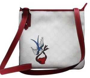 Gucci Heart Bird Tattoo Cross Body Bag