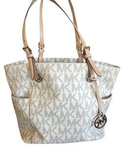 Michael Kors Collection Tote in White