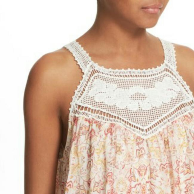 Joie Top Ivory and coral Image 2