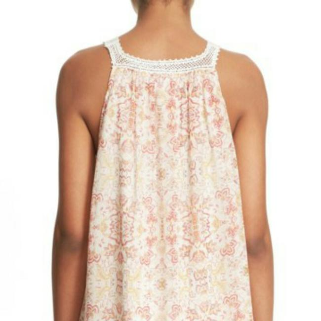 Joie Top Ivory and coral Image 3