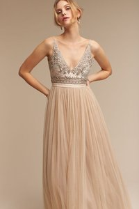 c214f790b0a Needle   Thread Champagne   Gold   Taupe Beaded Bodice Tulle Skirt Bhldn  and Brisa Feminine