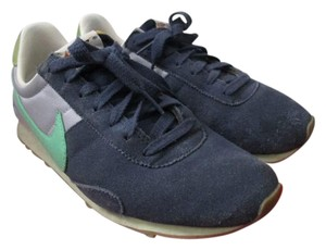 Nike Suede Casual Chic Comfortable Blue Athletic