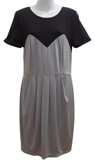 Preload https://img-static.tradesy.com/item/20765411/ax-armani-exchange-black-silver-gray-color-exposed-zip-short-workoffice-dress-size-12-l-0-1-650-650.jpg