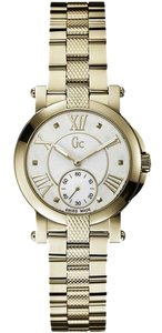 Guess X50002L1S Women's Gold Metal Bracelet With Mother Of Pearl Dial