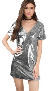 Tobi Sequin Party Shift Dress