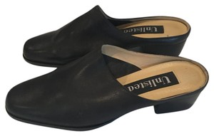 Unlisted by Kenneth Cole 90's Nyc Leather Black Mules
