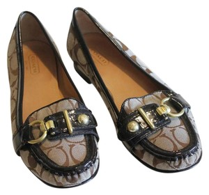 Coach Loafers Brown Flats