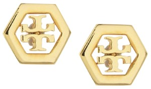 Tory Burch hex logo earrings