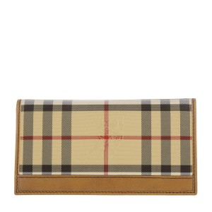 Burberry BURBERRY Mens Murphy Horseferry Check Foldover Wallet