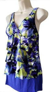 Miraclesuit Magicsuit By Miraclesuit Starry Night Blue Printed Tankini Swimsuit